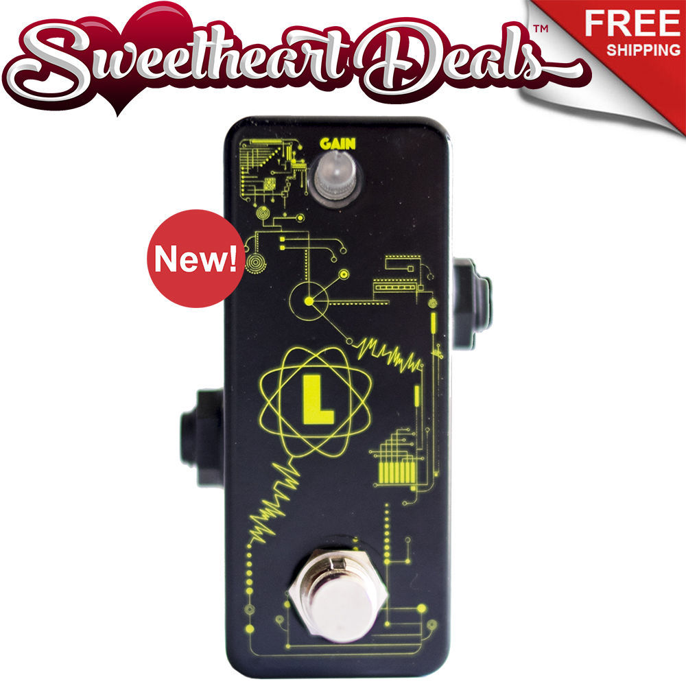 f pedals lorion buffer clean boost guitar pedal neon brothers series wah volume. Black Bedroom Furniture Sets. Home Design Ideas