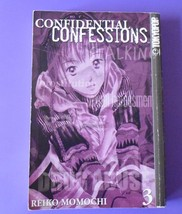 Confidential Confessions #3,By Reiko Momochi,Tokyopop Manga - $3.99