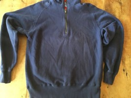 Champion sweatshirt Vintage Large 1/4 Zip Pullover Made USA rare - $29.92