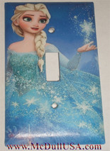 Frozen Elsa snow star Light Switch Toggle Rocker Duplex Outlet wall Cover Plate
