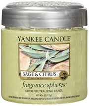Yankee Candle Sage & Citrus Fragrance Spheres Odor Neutralizing Beads, F... - $15.99