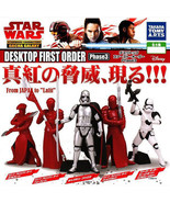Star Wars Desktop Mini Figure First Order Phase 3 - Complete Set of 5 - $25.90