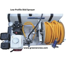 Skid Sprayer Low Profile 110 Gallon Chemical Resistant - $3,437.00