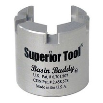 Superior Tool 03825 Basin Buddy Faucet Nut WrenchWrench to grab metal, pvc, - $26.99