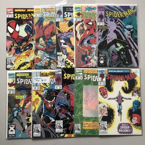 Lot of 20 Spider-Man (1990) #1-34 (1998) 1/2