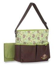 Baby Shower Infant Diaper Bag Gender Neutral Pamper Monkey Green Brown - $59.39