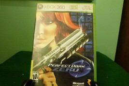 Perfect Dark Zero (Microsoft Xbox 360, 2005) VG Condition W/ Manual - $11.87