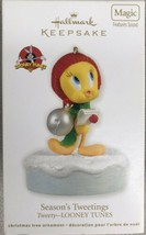 Hallmark 2012 Looney Tunes Tweety Ornament SEASON'S TWEETINGS - New - $11.95