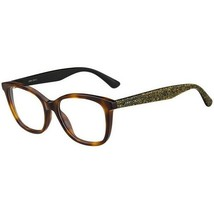 NEW JIMMY CHOO Eyeglasses Size 52mm 140mm 17mm New With Case - $57.52