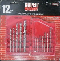 Mibro 895080 12-Piece Super Masonry Drill Bit Set - $6.44