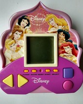 Walt Disney pink electronic Princess travel game Snow White Ariel Cinder... - $16.49
