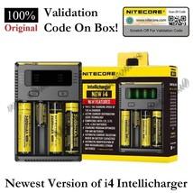 NITECORE 2017 New i4 Intellicharger Universal Smart Vape Mod Kit Battery... - $21.33