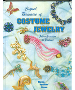 Signed Beauties of Costume Jewelry Identification and Values  Marcia  Brown - $24.99