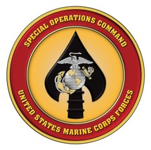 MARINES MARSOC EMBLEM MILITARY RECON POSTER 24 X 24 Inches Looks Awesome! - $19.94