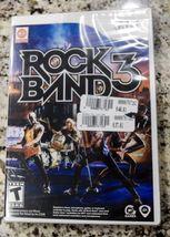 Rock Band 3 (Nintendo Wii, 2010) - New - Sealed - $35.00