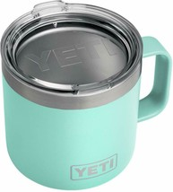 Light Blue 14oz Stainless Steel Mug With Lid - $49.00