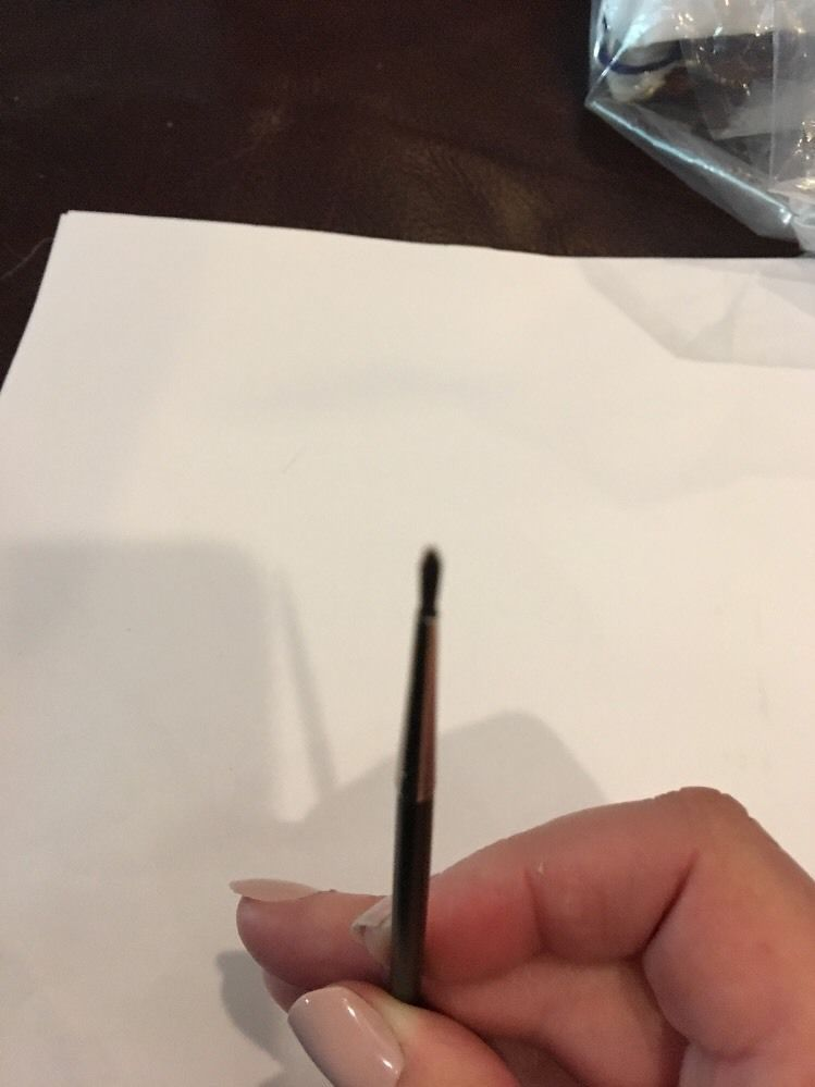 M A C Cosmetics 210 Precise Eye Liner Brush Gently Used