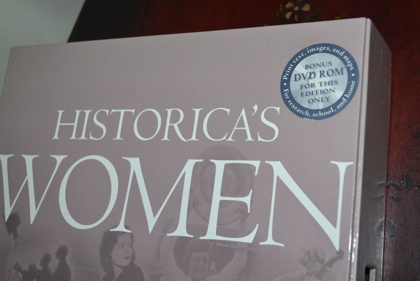 NEW Historica's Women 1000 Years of Women in History Hardcover Book w/Case & DVD