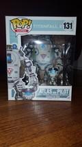 Funko Pop Atlas and Pilot #131 TitanFall 2 GameStop Exclusive LARGE Size - $19.99