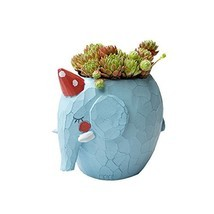 Cuteforyou Cute Animal Shaped Cartoon Home Decoration Succulent Vase Flo... - $13.11