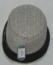 Howard's Brand Arianna Collection 89025 Women's Black And Cream Color Cloche Hat image 3