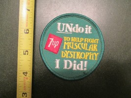 7up Un do It I Did souvenir Sew on Patch - $10.99