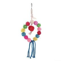 Yosooo Bird Toys, Parrot Toy Bird Toys Hanging Toy Parrot Swing Suitable... - $8.65 CAD
