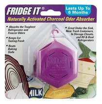 Fridge-It Cube, Naturally Activated Charcoal Deodorizer, Refrigerator Od... - $8.43