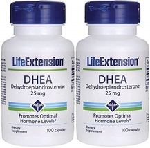Life Extension - Dhea - 25 Mg - 100 Caps (Pack of 2) - $85.74