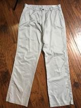 Mens Adidas Gray Climalite Pants Sz 33 Inseam 33.5 Euc - $15.83