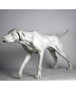 "Life-size Pointer Dog sculpture statue 51"" - $494.01"
