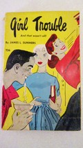 Girl Trouble 1961 James L Summers, Scholastic Book Series - $3.00