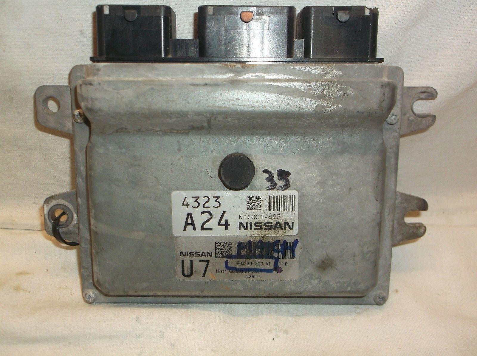 NISSAN SENTRA ECM ECU COMPUTER BEM260-300 A1