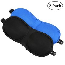Sleep Mask, Alcyoneus 2-Pack Eye Mask 3D Contoured Shape Blindfold Eyesh... - $204,85 MXN