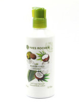 YVES ROCHER LES PLAISIRS NATURE Sensual Body Lotion - Coconut 390  ml (3... - $34.64