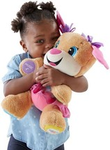 Fisher-Price - Laugh & Learn® Smart Stages™ Sis Plush Toy - Brown - $17.28