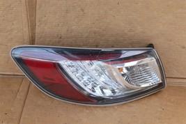 10-13 Mazda3 Mazda 3 Hatchback LED Outer Tail Light Taillight Driver Left LH image 1