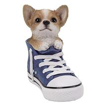 Pacific Giftware PT All Star Animal Chihuahua Puppy Dog in The Shoe Home Decorat - $34.64