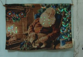 Innovative Design Group 10Sant Santa Fiber Optic Wallhanging image 2