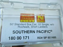 Micro-Trains # 18000171 Southern Pacific 50' Standard Boxcar N-Scale image 5