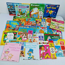 Lot 26 See Read & Hear Disney Children's Book Vinyl Pac-Man Knight Rider Popeye - $40.00