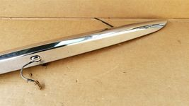 07-10 Infiniti G35 G37 4dr Sedan Trunk Lid  Finisher Trim Chrome NO CAMERA image 3