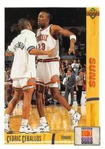 1991-92 Upper Deck #160 Cedric Ceballos RC Rookie Card > Phoenix Suns  - $0.99