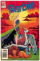 Barbie #44 1994- Jungle cover- Marvel VG - $22.35
