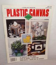Plastic Canvas Corner Magazine April 1991 23 Designs Spring Easter Nursery - $4.95