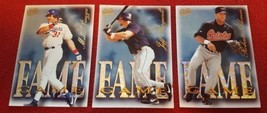 1997 Fleer Ultra Fame Game Insert Baseball Card Lot Of 3 Cards - $1.50