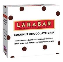 Larabar Gluten Free Bar, Coconut Chocolate Chip, 1.6 oz Bars (5 Count) - $12.53