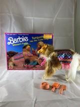Mattel 1989 #7454 Barbie Pet Collie Turquoise NIB - $46.74
