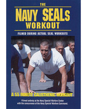 The Navy Seals Workout Official Live USN Workouts DVD 55 min - $34.99