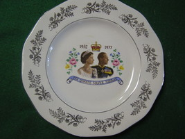 Collectible Plate- THE QUEENS SILVER JUBILEE 1952-1977 (Queen of England... - £10.56 GBP